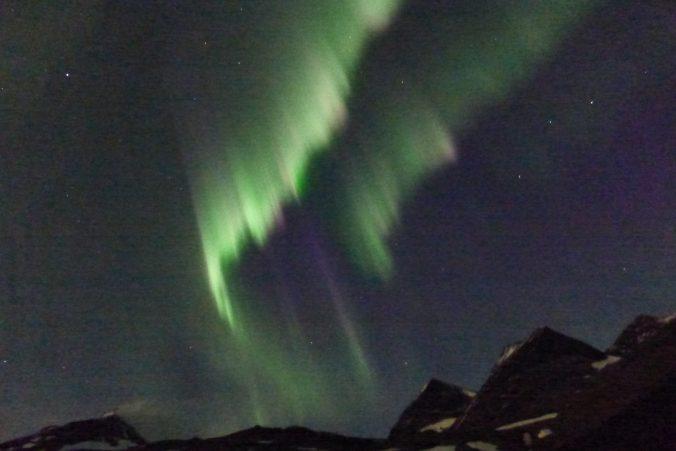 Nordlichter über Nallo